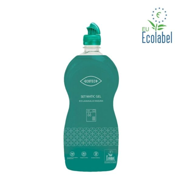 Ecotech Set Matic detergente lavavajillas ecológico
