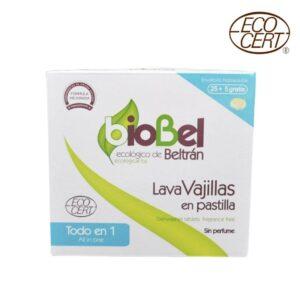 pastillas lavavajillas biobel ecológicas