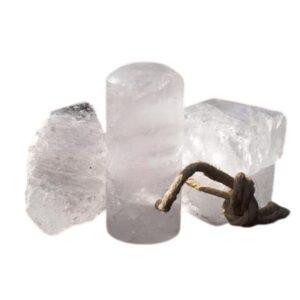 desodorante piedra alumbre natural