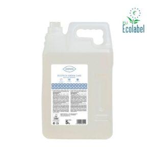 Gel de manos ecológico para dispensadores. Ecotech Green Care en garrafa de 5 litros
