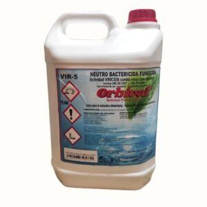 ORBIVAL limpiador desinfectante. Bactericida, Viricida y fungicida