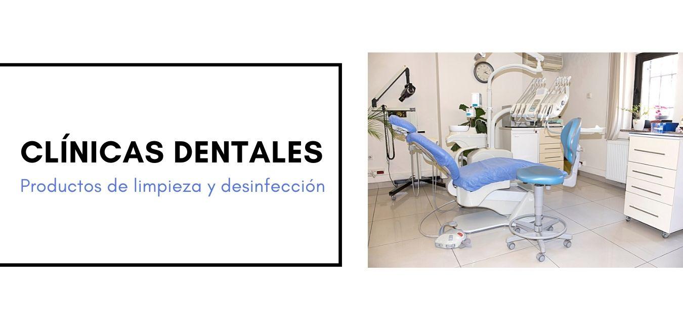 Productos de limpieza y desinfección para clínicas dentales